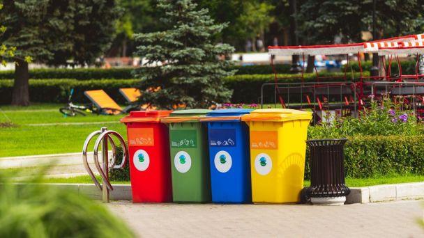 Vývoz separovaného odpadu - plasty