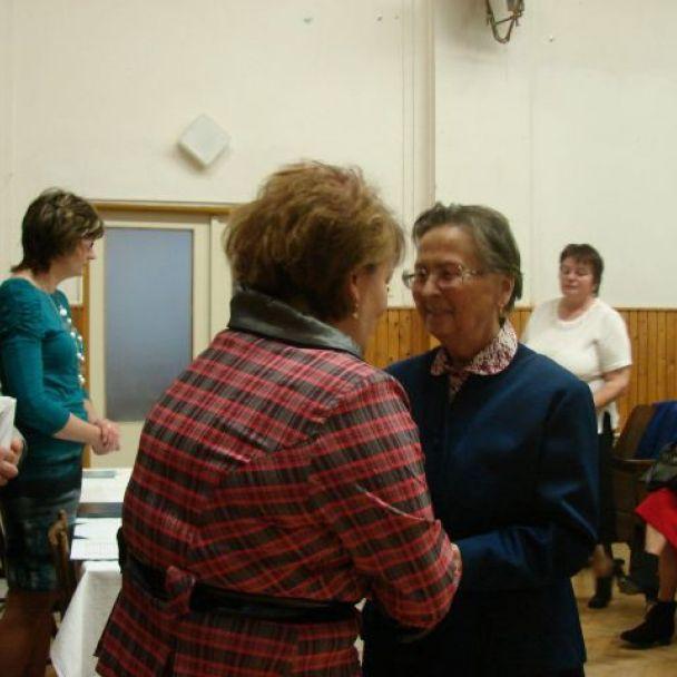 Stretnutie s jubilantami obce (2011)