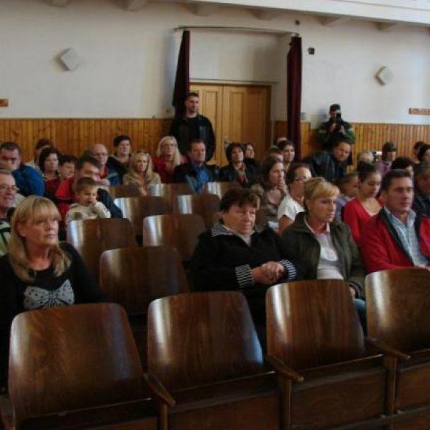 Stretnutie s jubilujúcimi občanmi obce (27.10.2013)