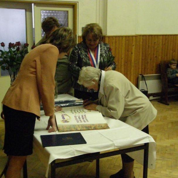 Stretnutie s jubilantami obce (2010)