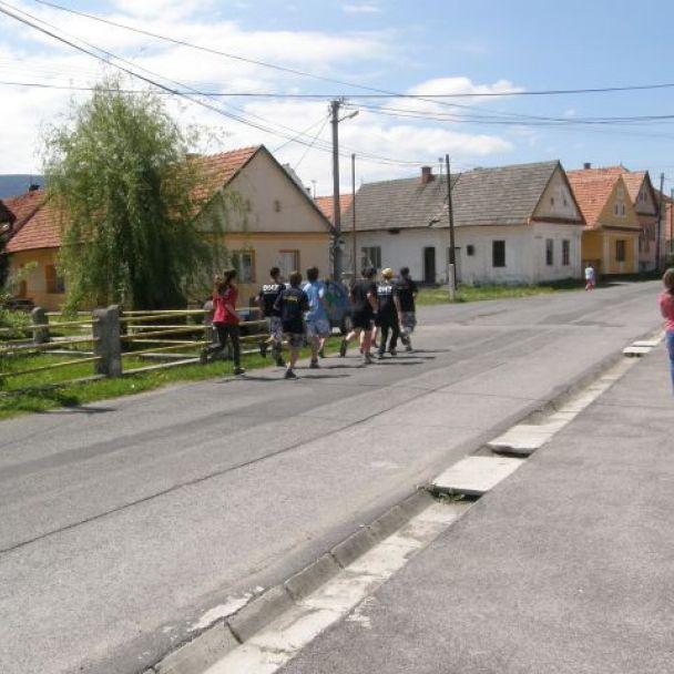 Olympijský oheň v našej obci (2012)