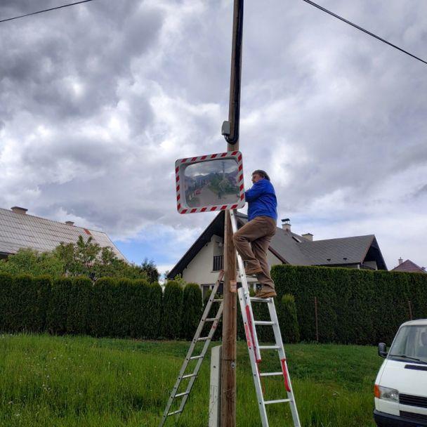 Drobné rekonštrukcie v obci (26.05.2020)
