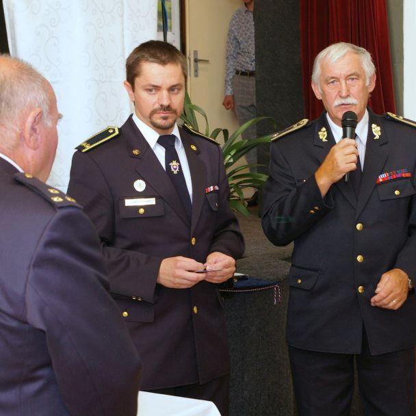 Slávnostná členská schôdza DHZ Liptovský Peter (13.8.2021)