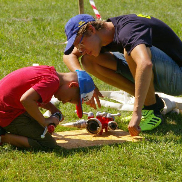 Súťaže a športový deň na ihrisku (14.8.2021)